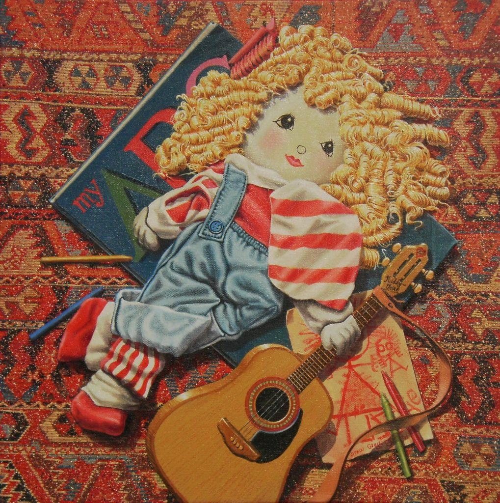 'Out on the Rug' Solo Exhibition J.P.F.A. March 17th. 2012 001