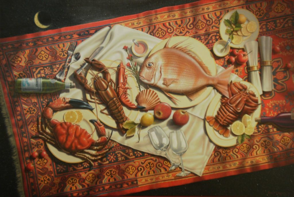 'Seafood Dreaming' oil on Canvas 101-x-152 2011