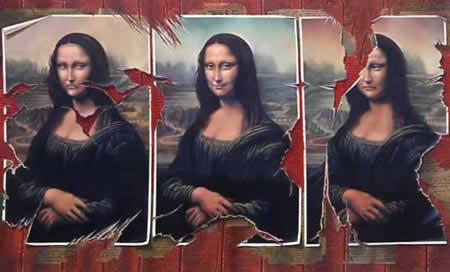 Moods of Mona - 120cms x 150cms